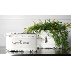 Queen Bee Tubs - Set of 2