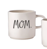 Rae Dunn Stem Print Mom Mug