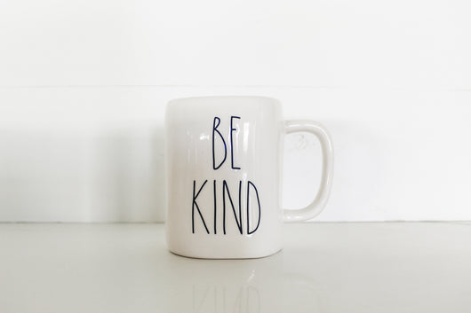 Rae Dunn BE KIND Elongated Mug - Matte Finish - Only 1 available!