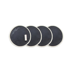 Rae Dunn Chalkboard Coasters - Set of 4
