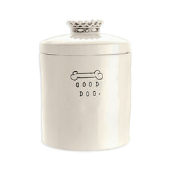 Rae Dunn Dog Biscuit Jar