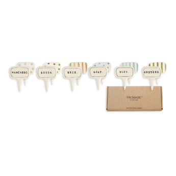 Rae Dunn French Cheese Markers With Gift Box