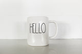 Rae Dunn HELLO Elongated Mug - Matte Finish - Only 1 available!