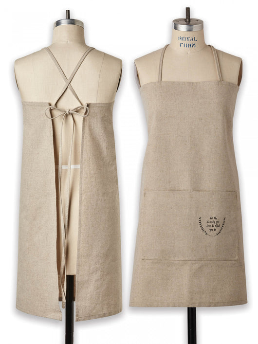 Rae Dunn Linen Apron - Two Sizes