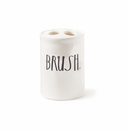 Rae Dunn STEM PRINT BRUSH HOLDER