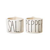 Rae Dunn Salt + Pepper Cellars