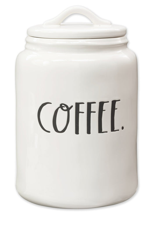 Rae Dunn Stem Print Coffee Canister
