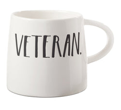 Rae Dunn Stem Print Tapered Veteran Mug