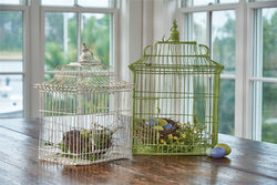 Rectangle Birdcages - Set of 2