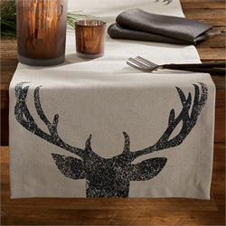 Rustic Antlers Table Runner