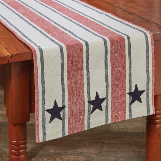 STARS AND STRIPES TABLE RUNNER kitchen