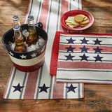 STARS AND STRIPES TABLE RUNNER july fourth