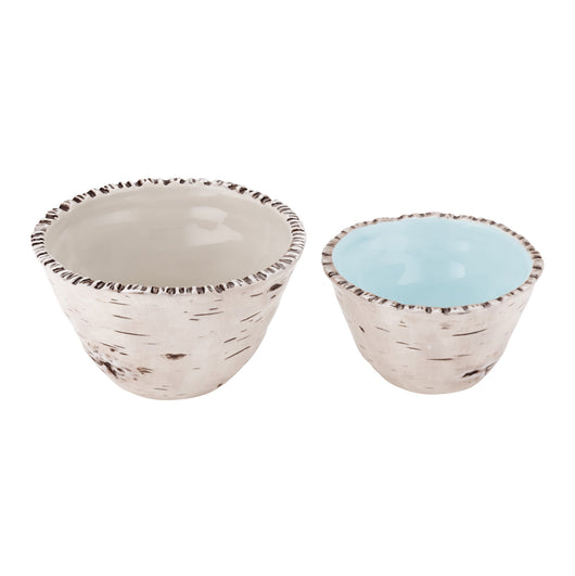 Set of 2 Birch Bowls