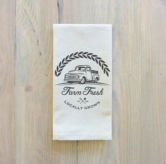 Set of 6 or 8 Farm Fresh Napkins