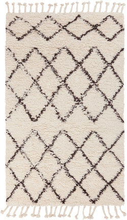 Sherpa Fringe Lattice Rug