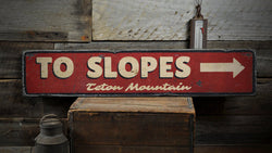 Slopes Sign
