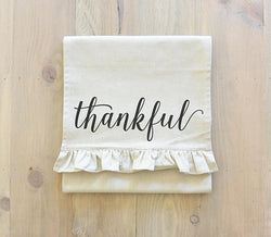 Thankful Script Table Runner