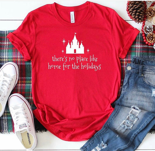 There's No Place Like Home for the Holidays T-Shirt