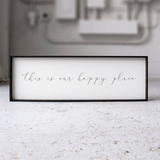 This Is Our Happy Place farmhouse sign