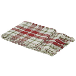 white red green Town Square Throw
