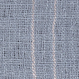 Traveler Open Weave Fringe Throw Blanket - Denim