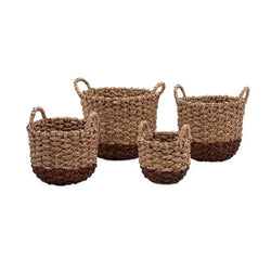 Trisha Yearwood Persimmon Woven Baskets - Set of 4