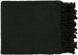 Turner Throw Blanket - Black