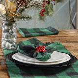 High quality Wicklow Check Christmas Dinner Napkin