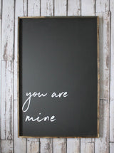 you are mine sign
