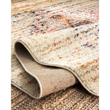 Distressed Persian Sarita Rug, Farmhouse decor, Traditional, vintage, floor coverings, sand