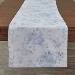 farmhouse French Chic Floral Table Runner - 72