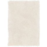 Heaven High Pile Farmhouse Rug - White