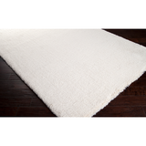 Heaven High Pile Soft Rug - White