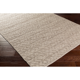 Ingrid Handwoven Farmhouse Rug - Beige