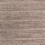 Kindred Handwoven Wool Textured Farmhouse Rug - Brown