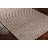 Kindred Handwoven Textured Wool Rug - Brown