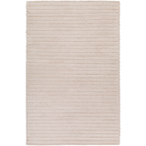 Timeless Kindred Handwoven Wool Farmhouse Rug - Tan