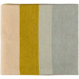 Meadowlark Colorblock Modern Farmhouse Throw Blanket by Emma Gardner - Mustard