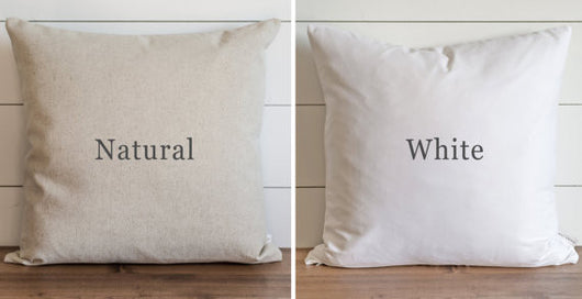 modern rustic farmhouse pillows square