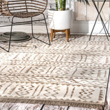 Outdoor Tribal Gretchen Rug, Farmhouse Decor, area rug, floor coverings, contemporary, transitional, beige