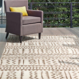 Outdoor Tribal Gretchen Rug, Farmhouse Decor, area rug, floor coverings, transitional, beige