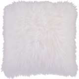 Heaven Farmhouse Faux Fur Throw Pillow
