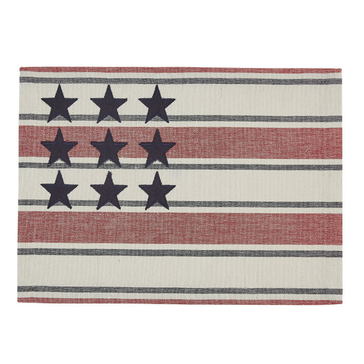 Stars and stripes placemat