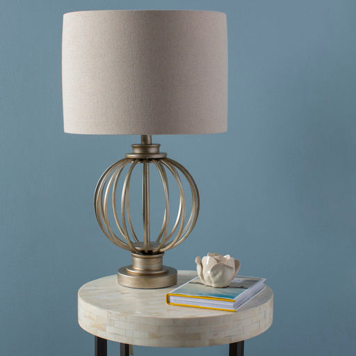 Thela Industrial Table Lamp