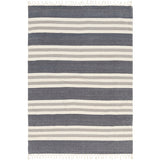 Timothy Knit Farmhouse Throw Blanket - Charcoal