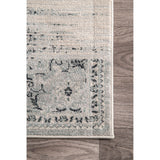 Vintage Marceline Rug, Farmhouse Decor, Contemporary, Transitional, area rug, blue, floor coverings