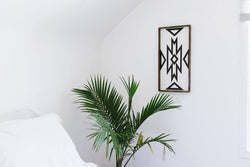 Aztec Design Wood Sign Farmhouse decor wall hanging