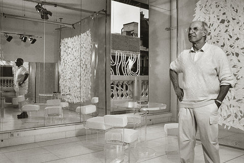 Andre Courreges, by Lucille Khornak