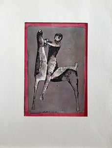 Horse and Rider, by Unknown