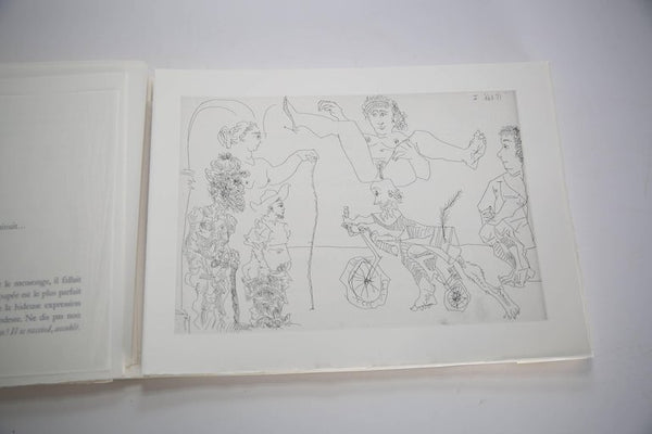 Pablo Picasso Le Cocu Magnifique -- complete illustrated book with 12 original etchings, 1968